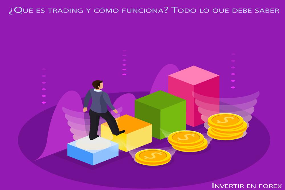 ¿Qué es trading y cómo funciona? Todo lo que debe saber