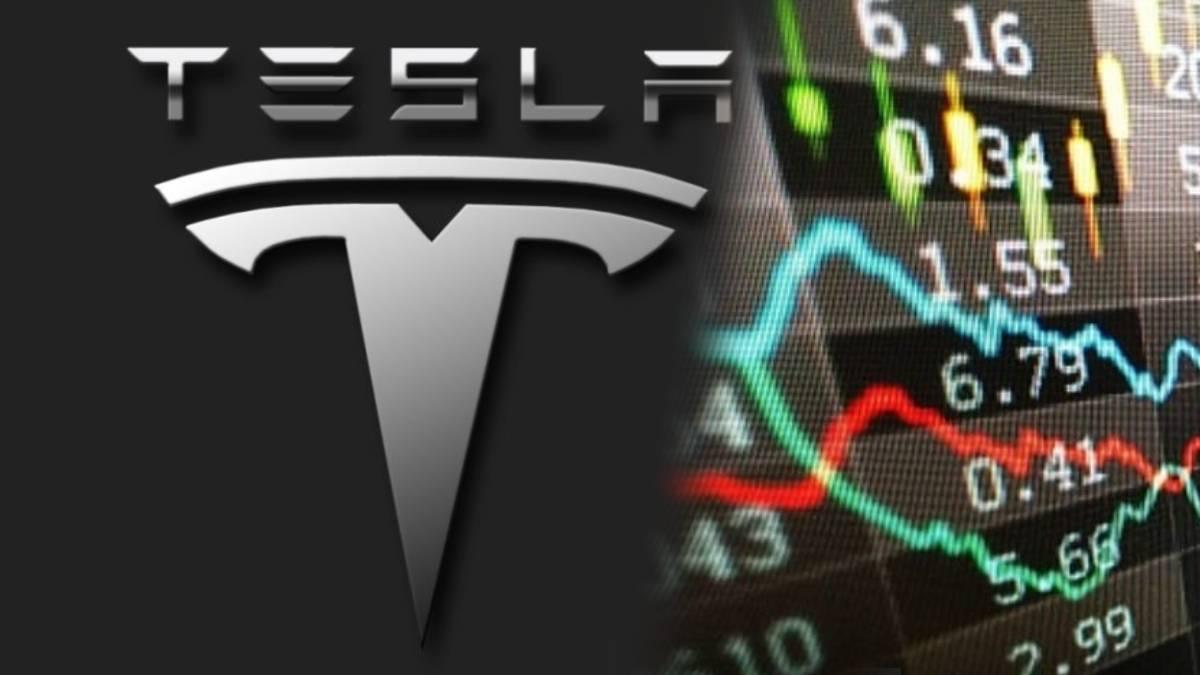 Acciones de Tesla a la baja tras caída del Bitcoin