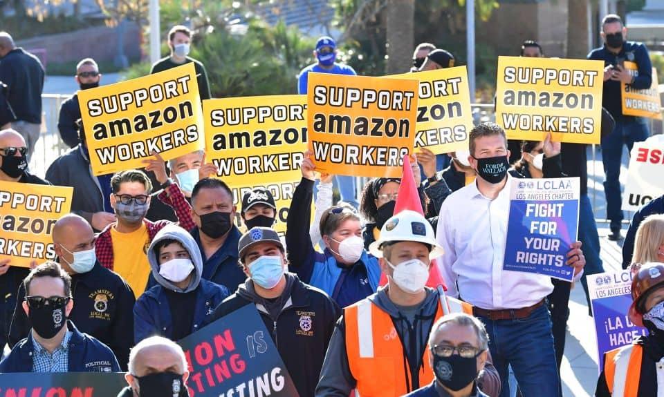 Amazon cerca de su primer sindicato en almacén de Estados Unidos