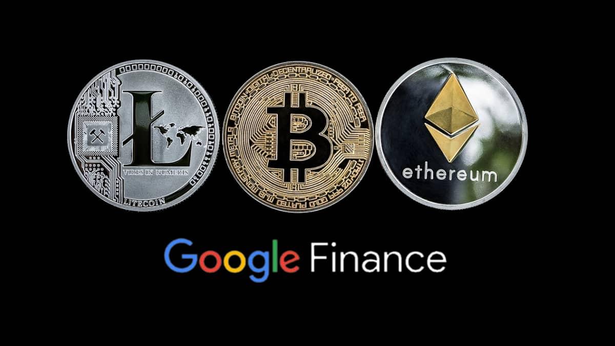 Google Finance incluye nueva pestaña dedicada a las criptomonedas Bitcoin, Ether y Litecoin