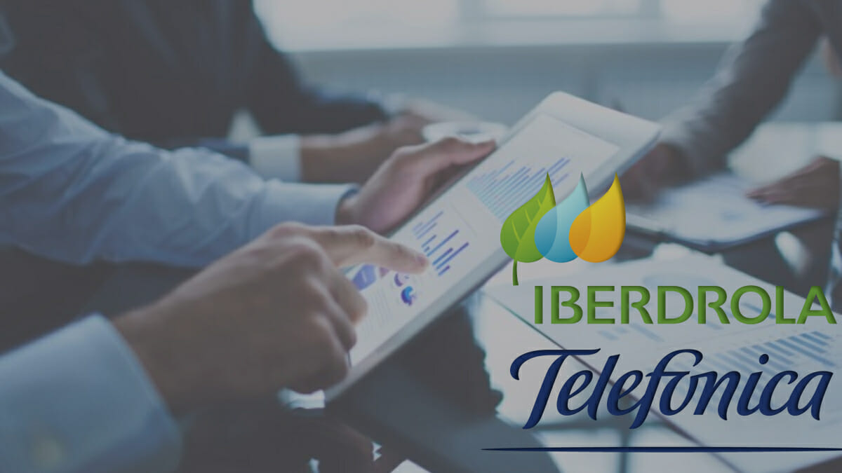 Índice Ibex 35, ¿salvado por Telefónica e Iberdrola?