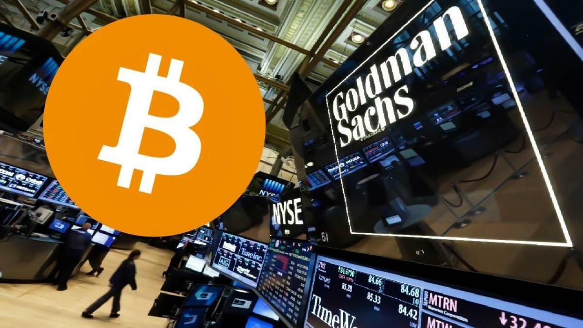 Precio del Bitcoin hoy se dispara por respaldo de Glodman Sachs y otros bancos