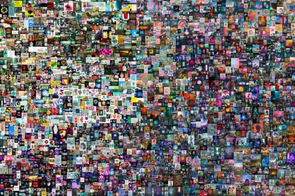 "Obra ""Everydays: The First 5000 Days"" del artista Beeple"