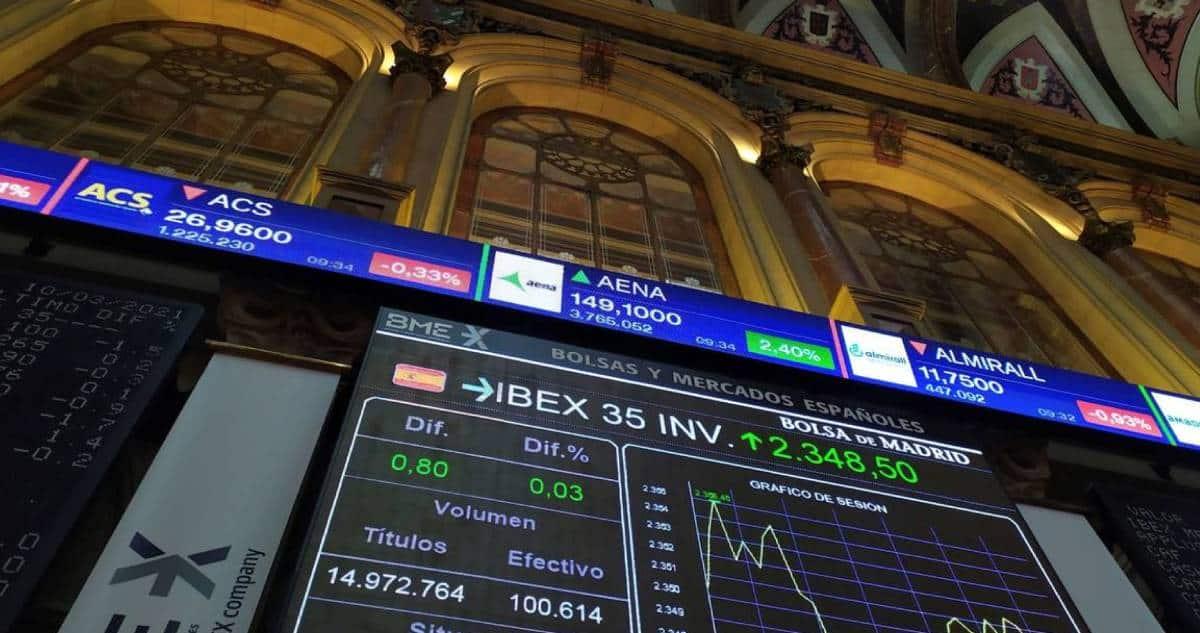Ibex 35 con un alza semana a pesar de plan fiscal de Biden