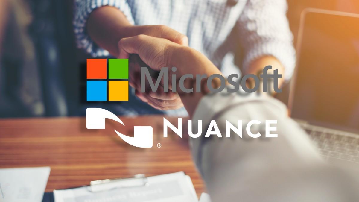 Microsoft y Nuance: se realizó la compra por 16.500 millones de euros