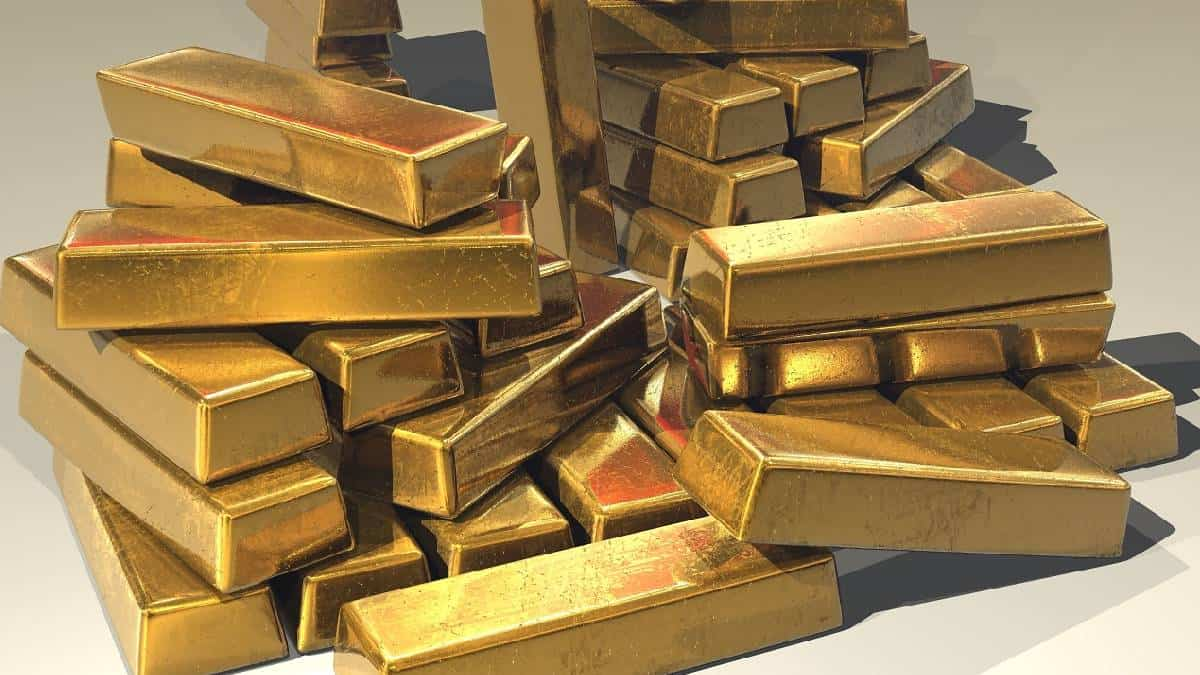Precio del oro cae por el alza de los bonos del Tesoro