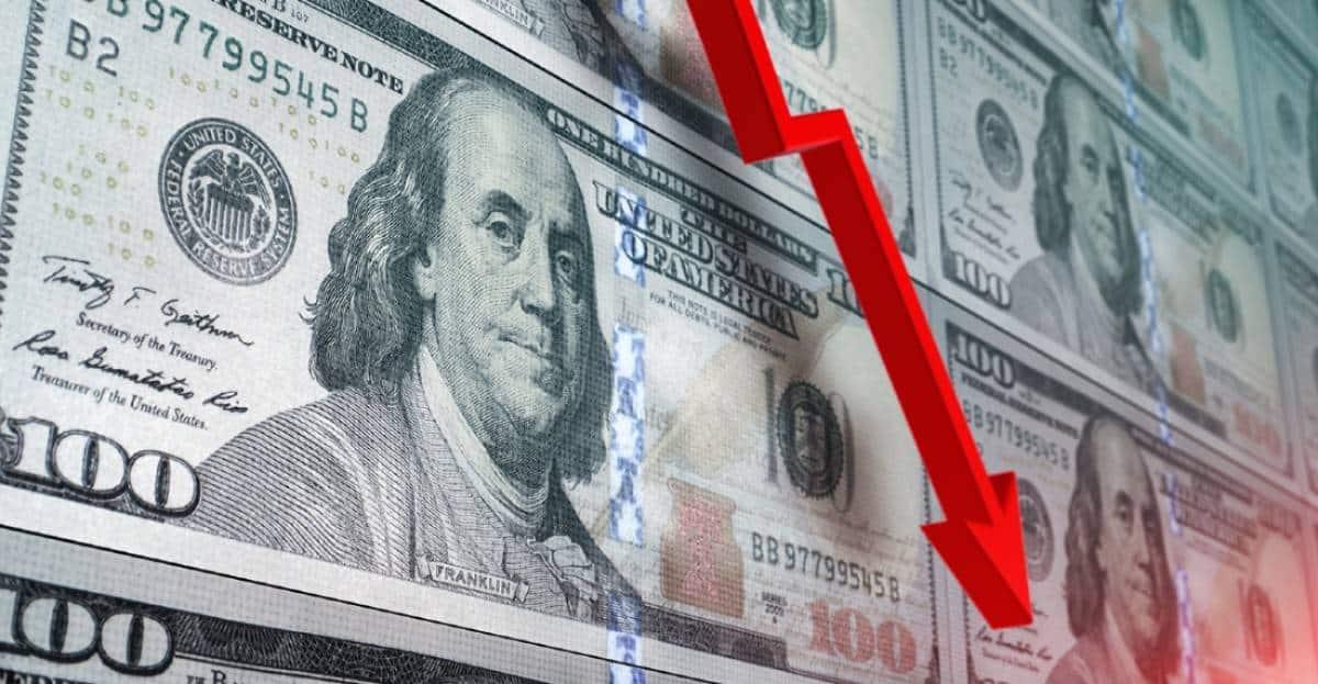 Precio del dólar en picada, cayó su precio hasta sus mínimos de seis semanas