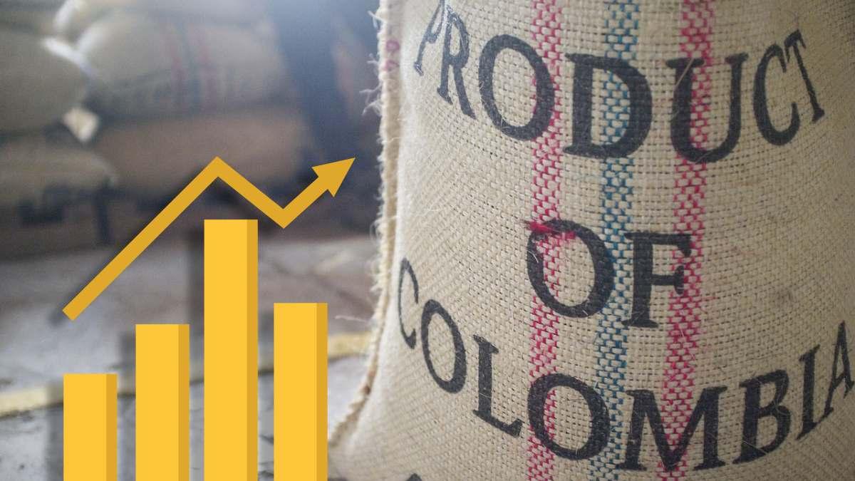 Materias primas: producción de café colombiano aumentó un 30% en marzo