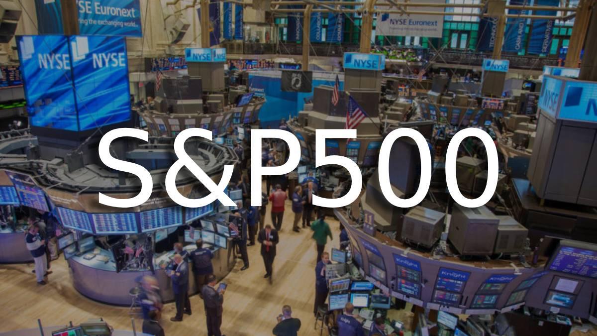 S&p500 con sus alzas y bajas en acciones