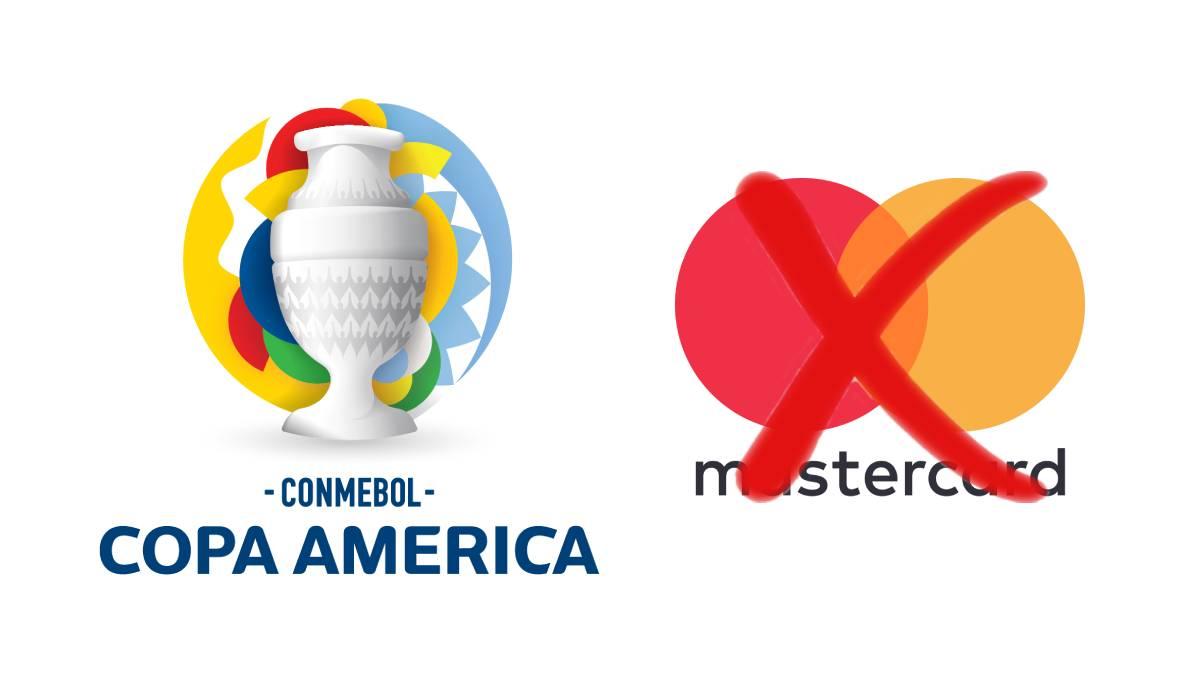 Mastercard anuncia retiro de su marca de la Copa América