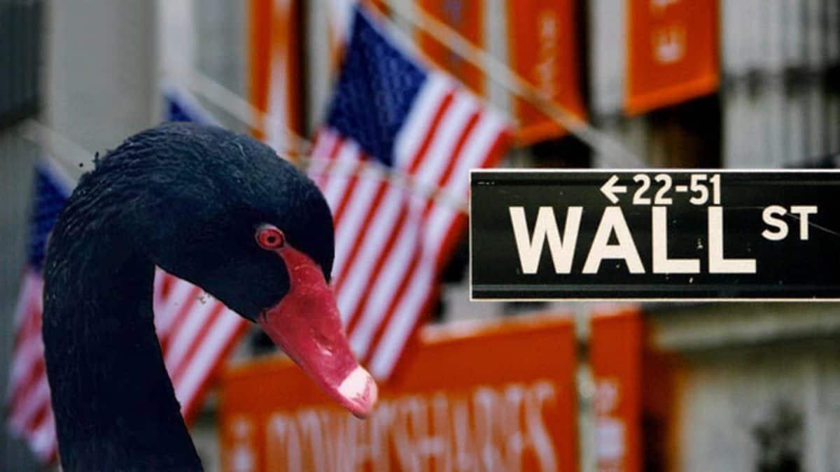 Cisne negro en Wall street se aproxima en octubre del 2021