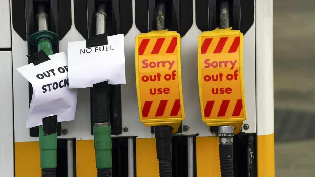Crisis de combustible en el Reino Unido principales causas