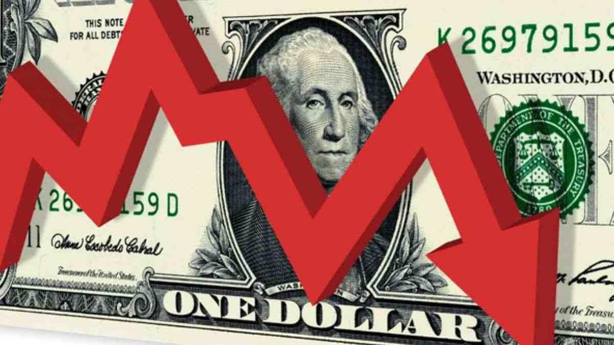 Dólar desciende por datos de inflación en Estados Unidos